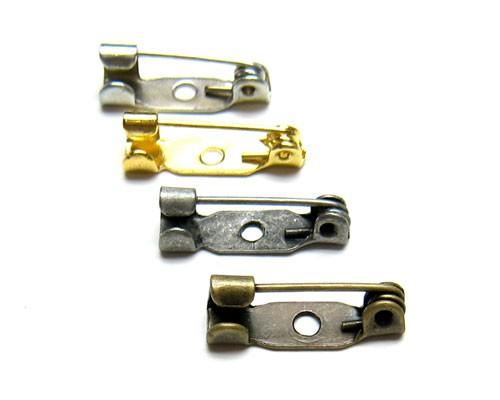 ブローチピン15mm 10個[met-oth-039]