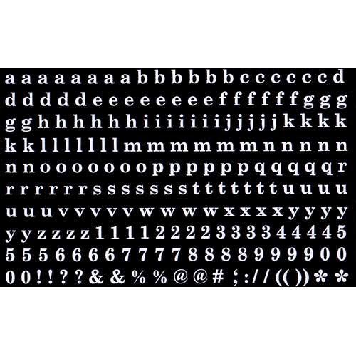 Amaily ネイルシール NO.4-4 アルファベットシリ...