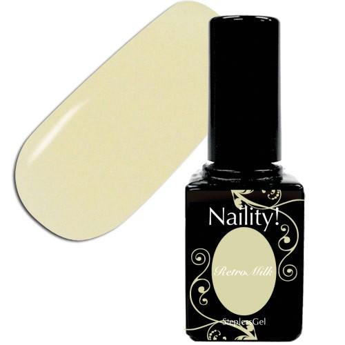 Naility! ステップレスジェル 301 レトロミルク 7...