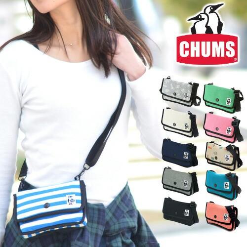 チャムス/CHUMS/ミニポーチ/ショルダーポーチ/ス...
