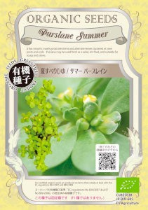 【有機種子】 夏スベリヒユ/サマーパースレイン 0...
