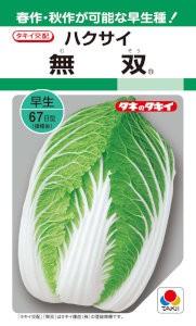 タキイ交配 ハクサイ 無双 1.3ml 【郵送対応】...