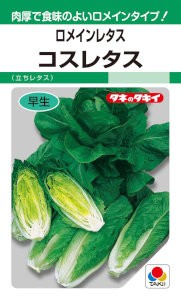 タキイ交配 ロメインレタス コスレタス 2ml 【...
