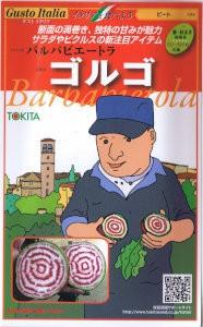 トキタ種苗 グストイタリア ゴルゴ 約80粒 【郵...