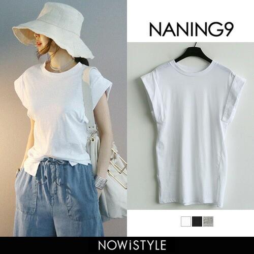 【NANING9】ショートスリーブTシャツ【5】【メー...