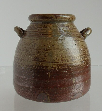 【宮古焼花瓶】【焼物】