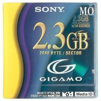 3.5型 MOディスク EDMG23C 2.3GB 1枚