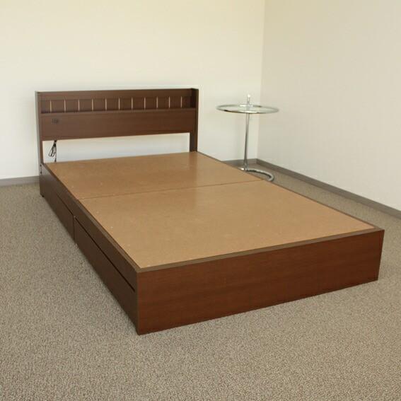 ベッド セミシングル 木製 ベッドフレーム ★   ...
