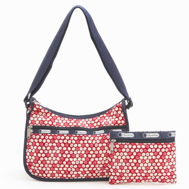 LeSportsac 7520 D842 Travel Daisy Red クラシッ...