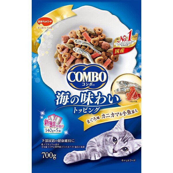 コンボ キャット まぐろ味・カニカマ・小魚添え 7...