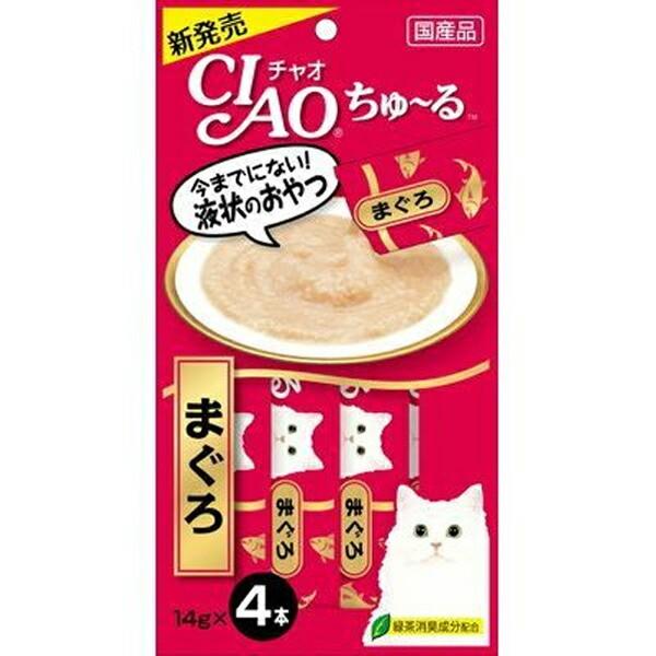 チャオ ちゅ〜る まぐろ 4本入り(14g×4コ) [ち...