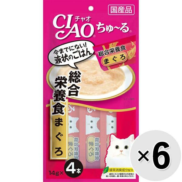 【セット販売】チャオ ちゅ〜る 総合栄養食 まぐ...