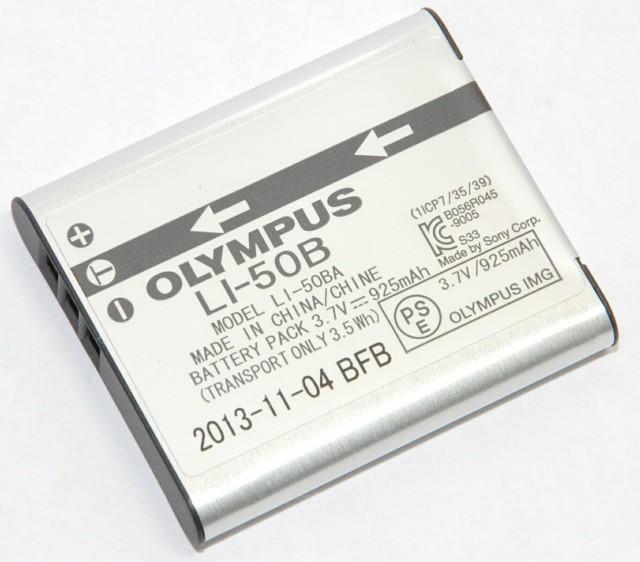 OLYMPUS リチウムイオン充電池 LI-50B 純正  ...