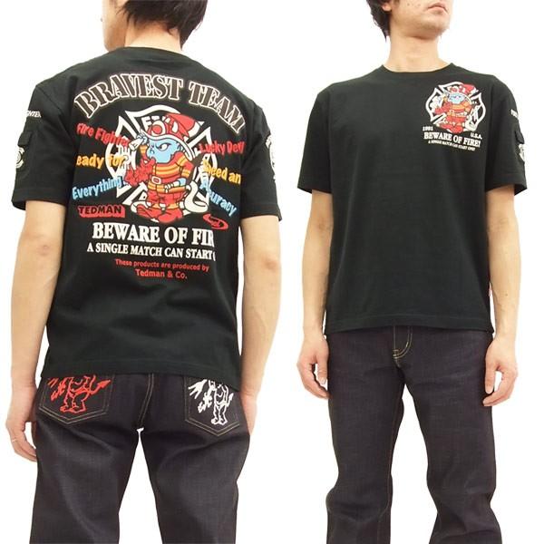 テッドマン Tシャツ TDSS-464 消防士 TEDMAN エフ...