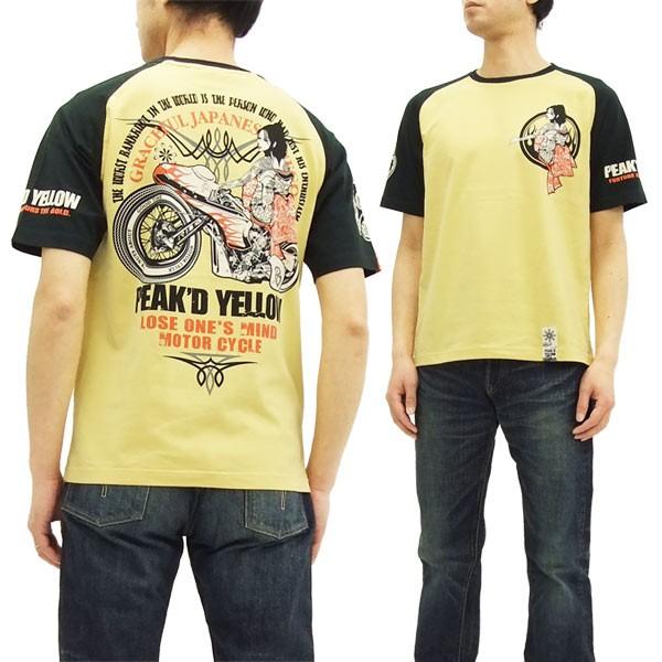ピークドイエロー Tシャツ PYT-203 Peak'd Yellow...