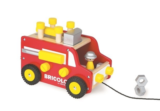 Janod BRICOLO  DIYトラック [幼児玩具] (3700217...