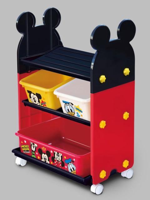 ミッキーマウス トイステーション [おもちゃ箱] ...