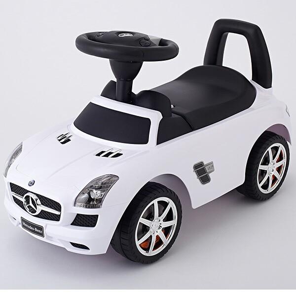 乗用玩具 メルセデスベンツSLS AMG ホワイト [乗...