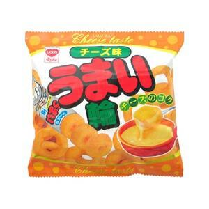 やおきん(リスカ) うまい輪 チーズ味 17g×3...