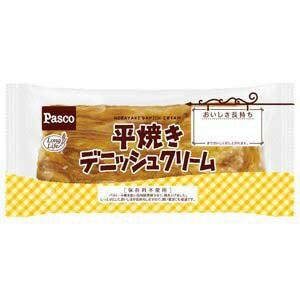 パスコ 平焼きデニッシュ クリーム 10入