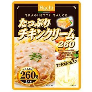 ハチ食品 たっぷり チキンクリーム 260g×12入...