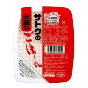 サトウ食品 ごはんコシヒカリ大盛り 300g×6入