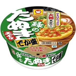 東洋水産 マルちゃん 緑のたぬき天ぷらそば で...