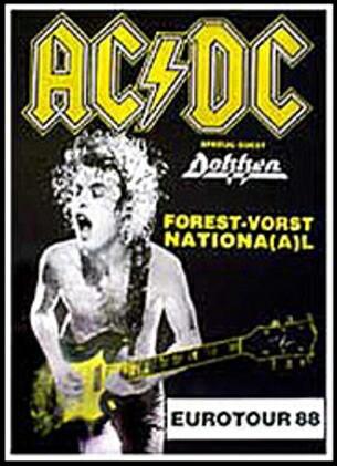 AC/DC   ポスター フレーム セット