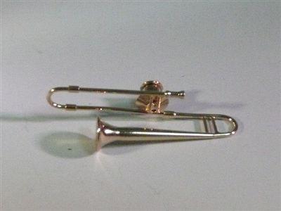 立体型ピンバッチ トロンボーン