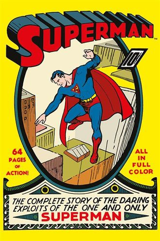 スーパーマン ポスター SUPERMAN (No. 1)(130628)...