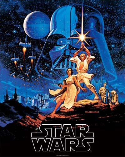 スターウォーズ ミニポスター Star Wars