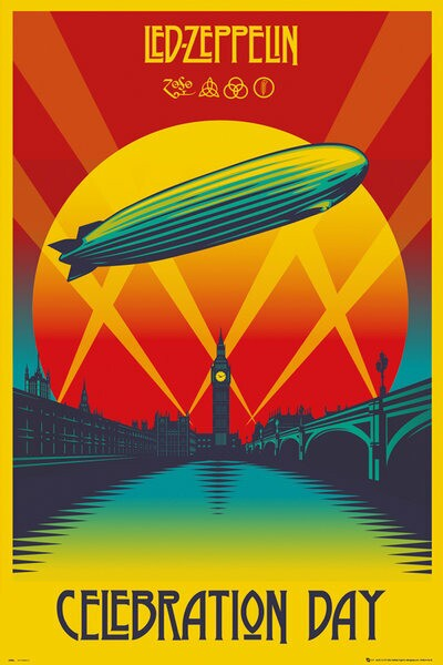レッド・ツェッペリン ポスター Led Zeppelin Cel...