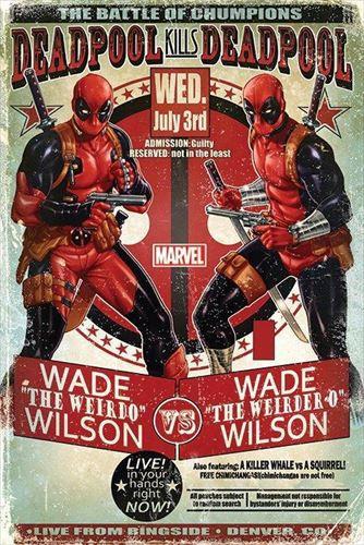 デッドプール ポスター Deadpool (Wade vs Wade)(...