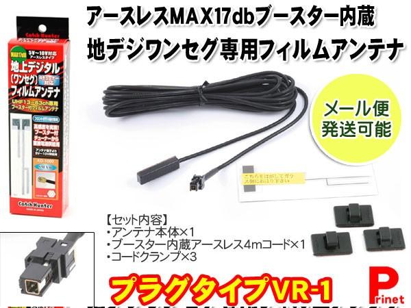 【VR-1】ワンセグ・地デジフイルムアンテナ・フィ...