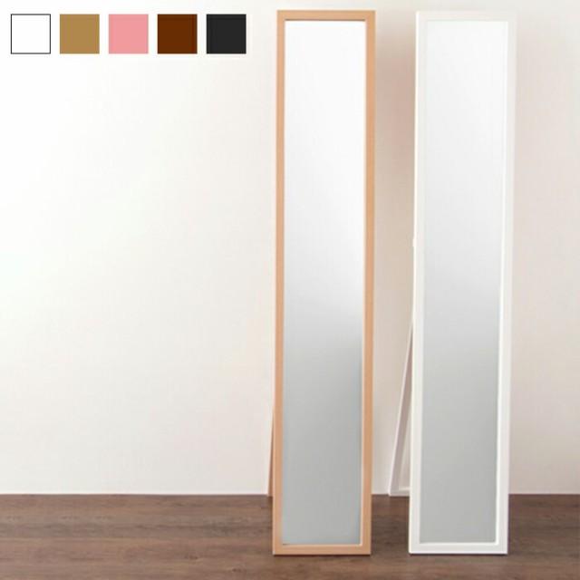 木製スタンドミラー 姿見 鏡 全身鏡 ミラー 全身...