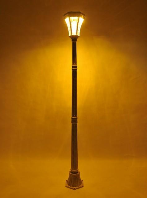 ヨーロピアンソーラー LED街灯 ガーデンライト ソ...