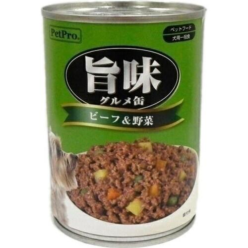 ペットプロ 旨味グルメ ビーフ&野菜味 375g 兼松 ...