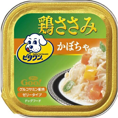 ビタワンGOO 鶏ささみ かぼちゃ 100g 日本ペット...