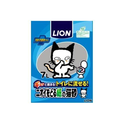 ライオン商事 ニオイをとる紙の猫砂 7L