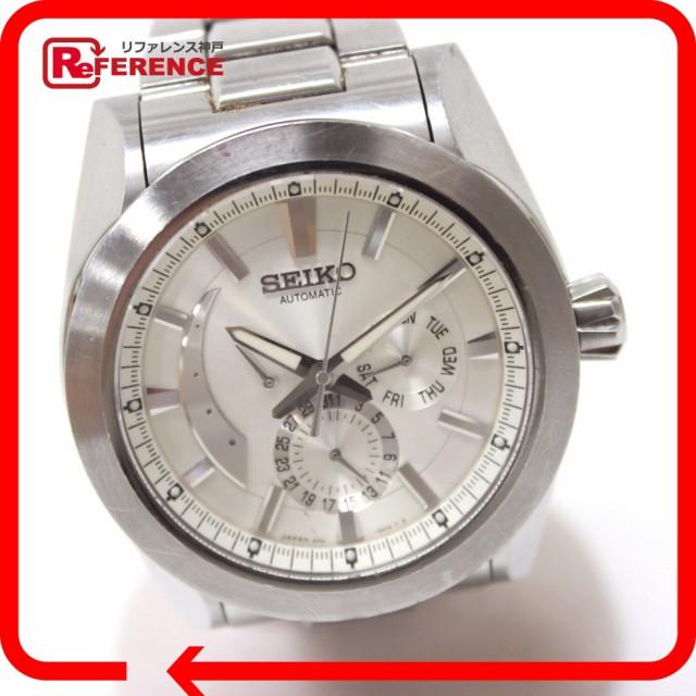 あす着 SEIKO セイコー SAEC005 パワーリザーブ アナンタ ブライツ 腕時計 SS シルバー メンズ