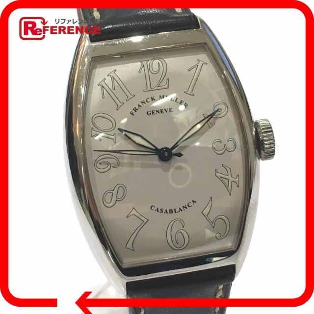 あす着 FRANCK MULLER フランクミュラー 5850 カサブランカ 腕時計 SS/ メンズ
