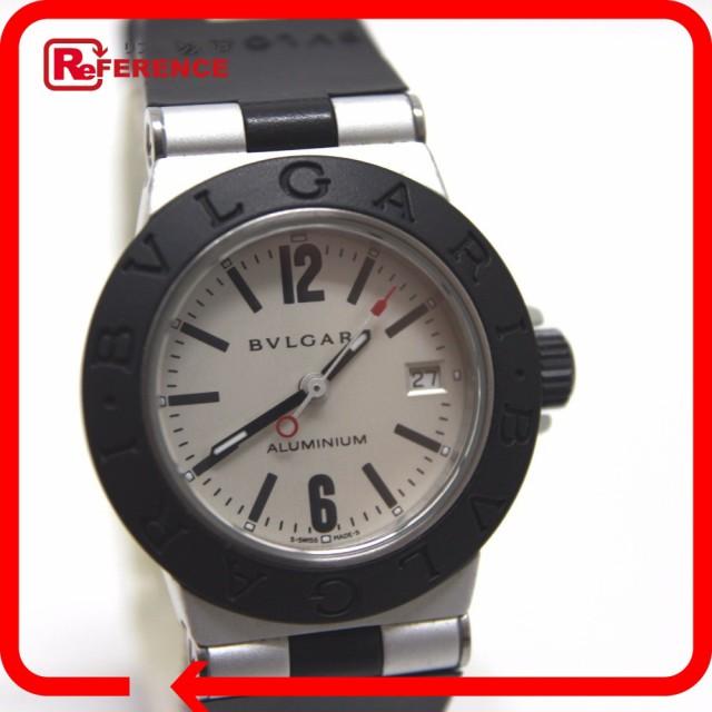 あす着 BVLGARI ブルガリ AL29TA ALUMINIUM アルミニウム 腕時計 アルミニウム シルバー レディース