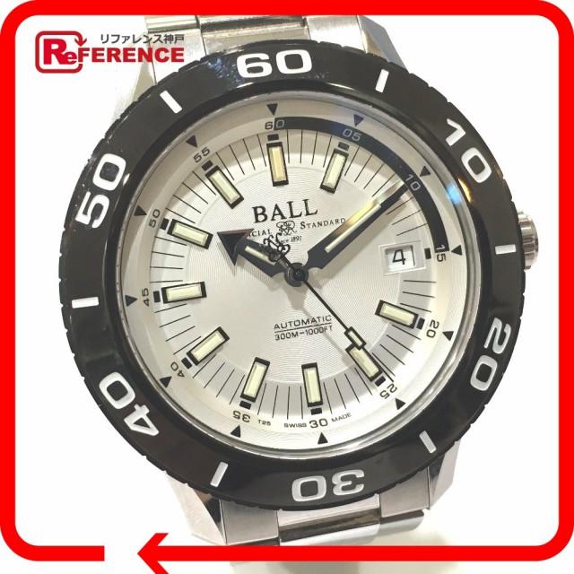 あす着 BALL WATCH ボール DM3090A NECC Fireman ストークマン 腕時計 SS シルバー メンズ