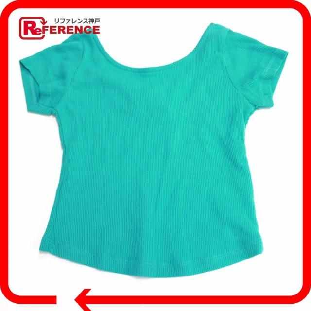 新品同様 あす着 ZARA ザラ 半袖Tシャツ クロップド 半袖シャツ グリーン レディース