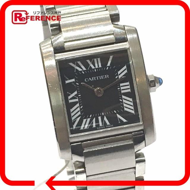 あす着 CARTIER カルティエ W51026Q3 タンクフランセーズSM レディース腕時計 アジア限定モデル