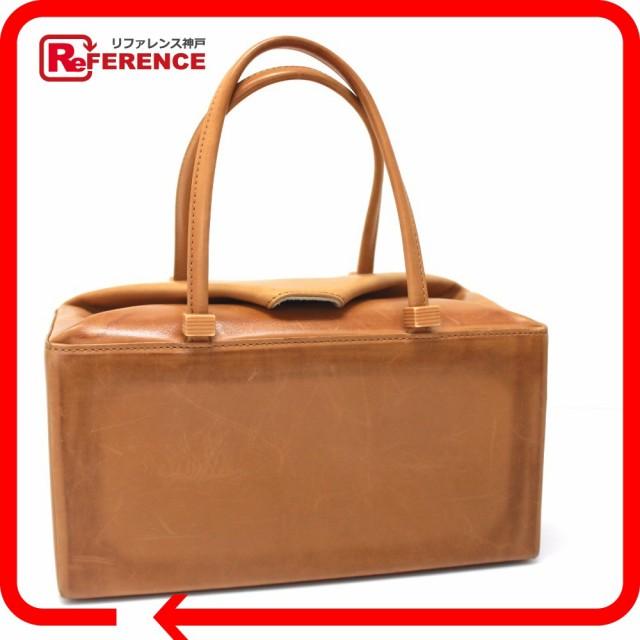あす着 Kitamura キタムラ バニティ ハンドバッグ レザー ブラウン レディース トートバッグ 鞄