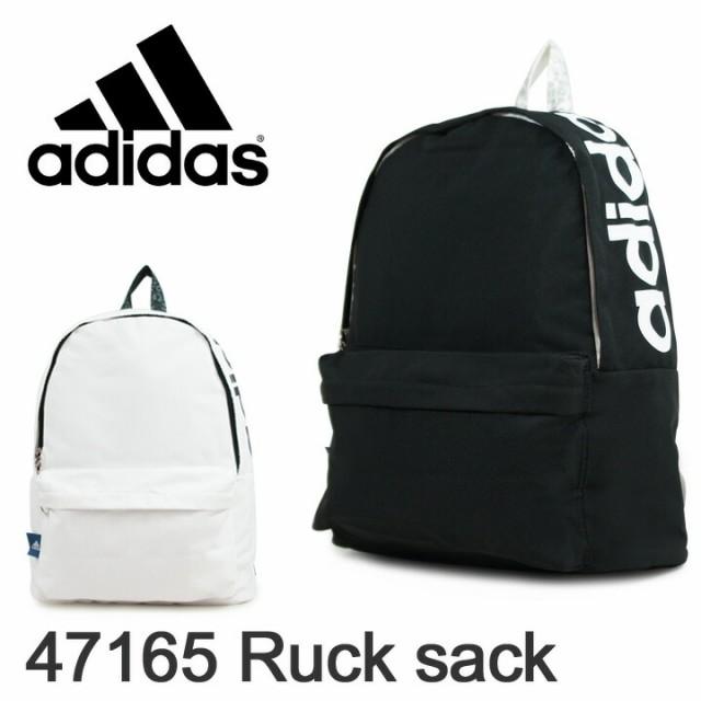 アディダス adidas リュック 47165 ブラック&ホ...