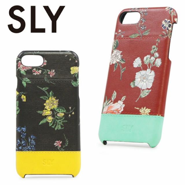 スライ SLY iPhone7 ポケット付き背面ケース s098...