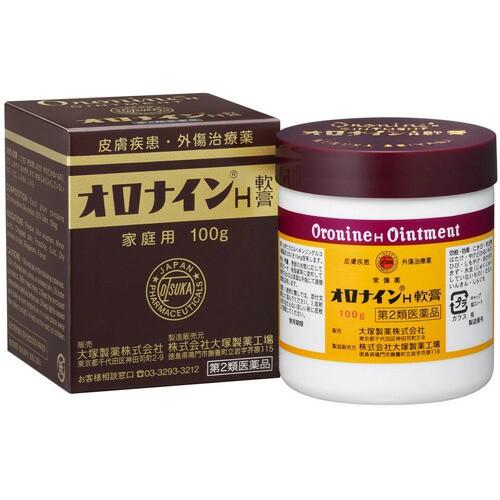 【第2類医薬品】大塚製薬 オロナインH軟膏 100g