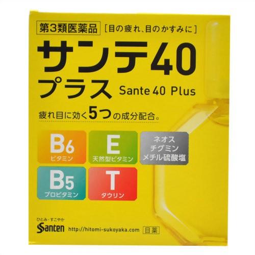 【第3類医薬品】参天製薬 サンテ40プラス 12mL[20...